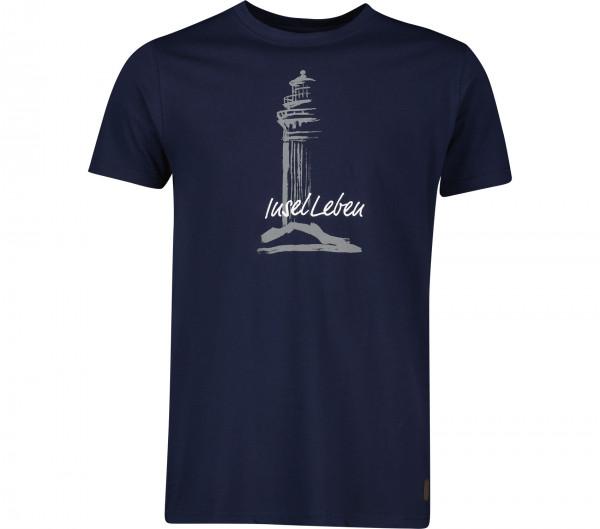 InselLeben Herren T-Shirt Leuchte Fred
