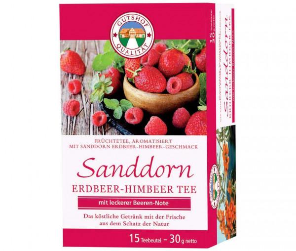 Avita Sanddorn Erdbeer-Himbeer Tee (Aufgussbeutel)