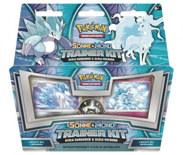 Pokémon Sonne & Mond Trainer Kit Alola-Sandamer & Alola-Vulnona