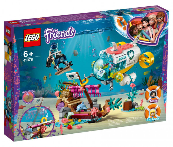 41378 LEGO® Friends Rettungs-U-Boot für Delfine