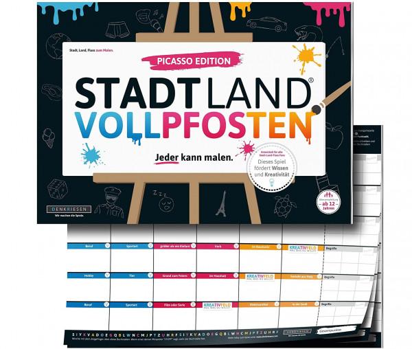 STADT LAND VOLLPFOSTEN® - Picasso Edition - Jeder kann malen.