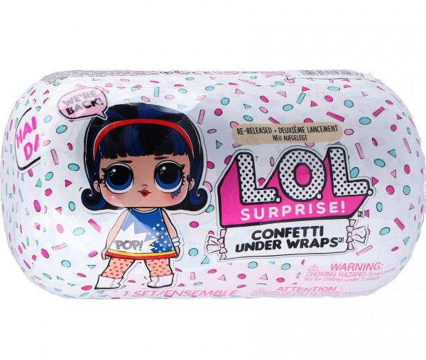 L.O.L. Surprise! Confetti Under Wraps Asst in PDQ