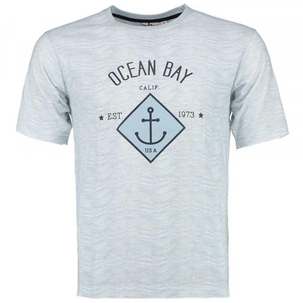 Tony Brown Herren T-Shirt Ocean Bay