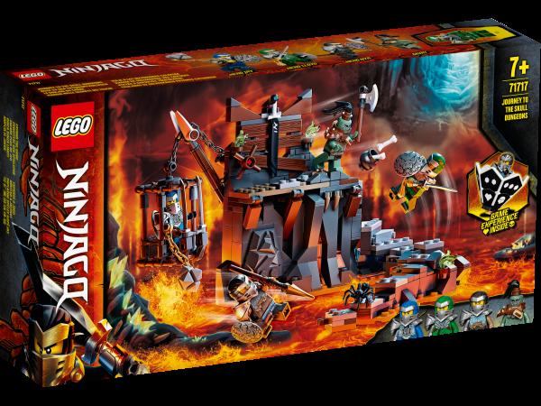 71717 LEGO® NINJAGO® Reise zu den Totenkopfverliesen