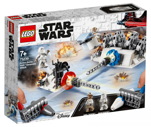 75239 LEGO® Star Wars™ Action Battle Hoth™ Generator-Attacke