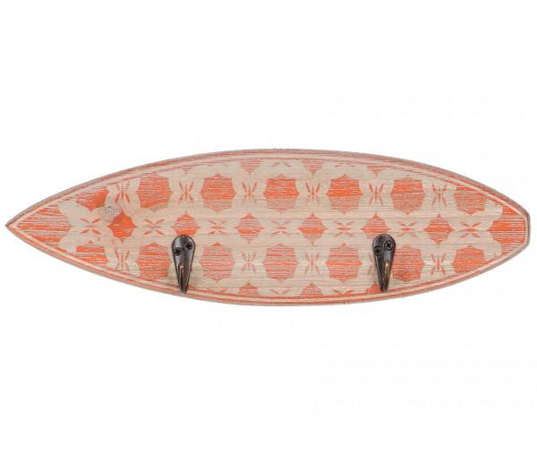 Surfboard mit 2 geschraubten Kleiderhaken