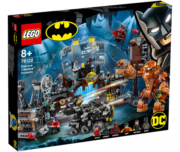 76122 LEGO® DC Comics Super Heroes Clayface™ Invasion in die Bathöhle