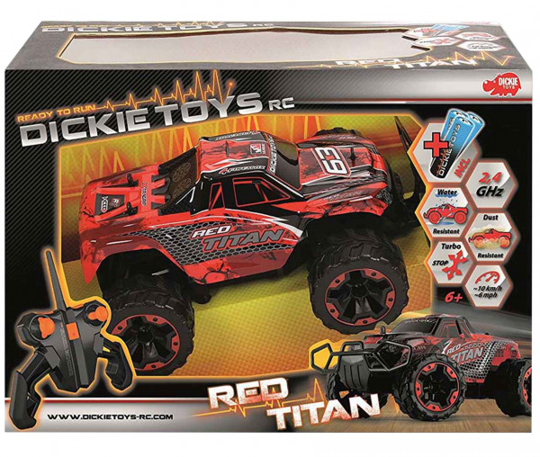 Dickie Toys RC Red Titan