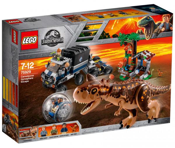 75929 LEGO® Jurassic World™ Carnotaurus - Flucht in der Gyrosphere