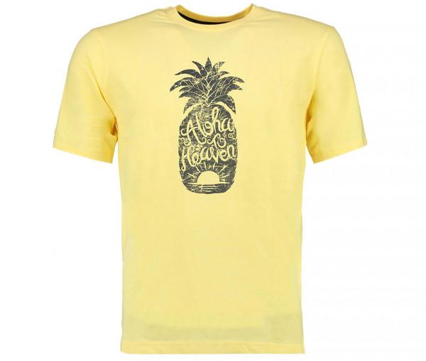 Tony Brown Herren T-Shirt Ananas