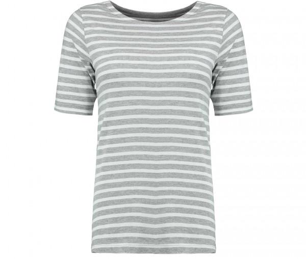 Julia Brown Damen T-Shirt Streifen