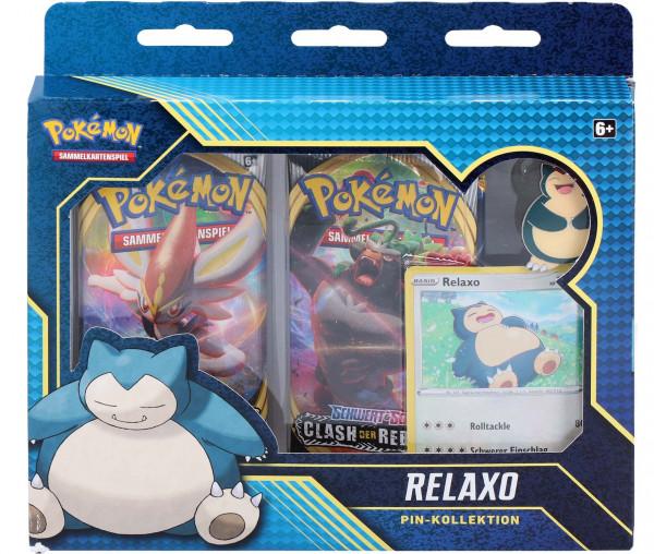 Pokémon Relaxo Pin-Kollektion
