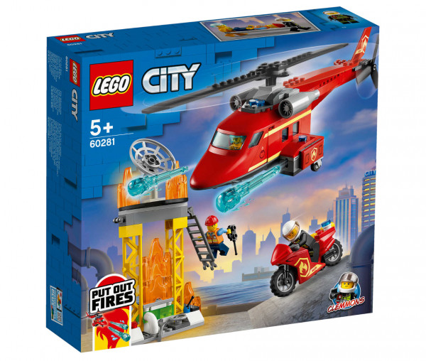 60281 LEGO® City Feuerwehrhubschrauber
