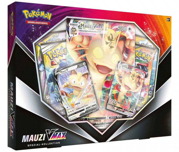 Pokémon Spezial-Kollektion Mauzi VMAX