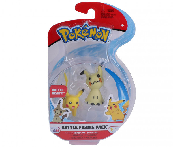 Pokémon Battle Figure Pack Mimigma & Pikachu