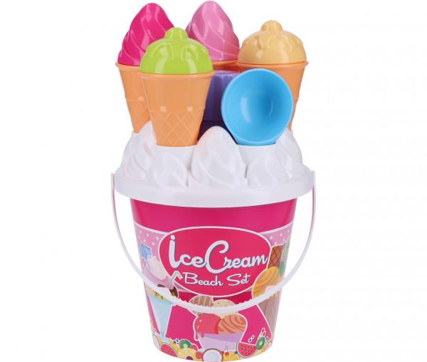 Simba Eimergarnitur Ice Cream Beach Set 17 cm