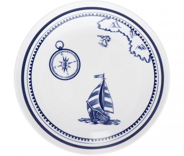 Tony Brown Speiseteller Segelboot