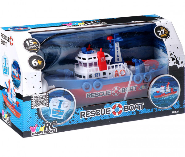 Happy People RC Rescue Boat