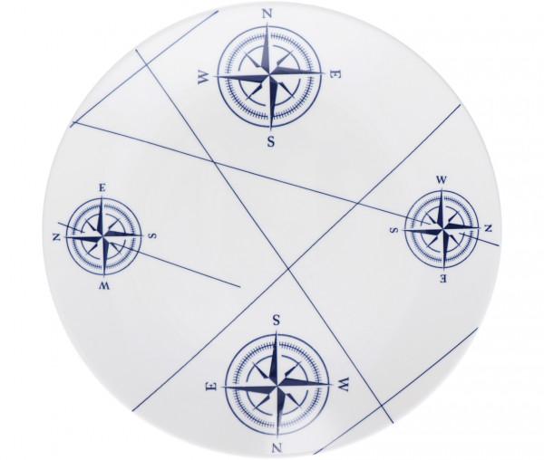 Tony Brown Suppenteller Kompass