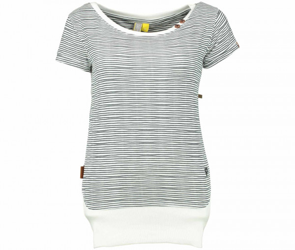 Alife and Kickin Damen T-Shirt CocoAK Streifen