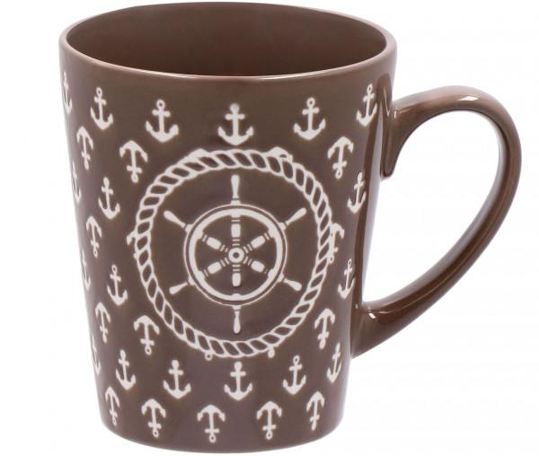 Tony Brown Kaffeebecher Steuerrad