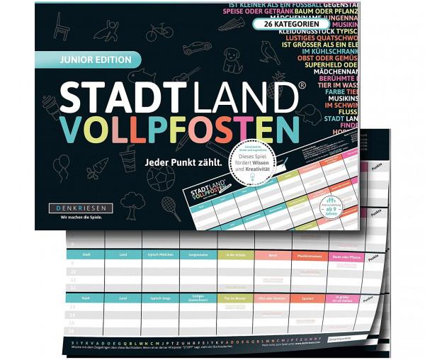 STADT LAND VOLLPFOSTEN® - Junior Edition - Jeder Punkt zählt.
