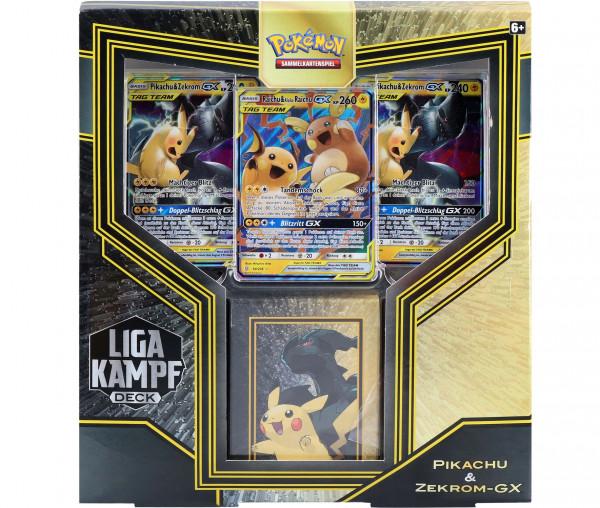 Pokémon Liga-Kampfdecks Pikachu & Zekrom-GX