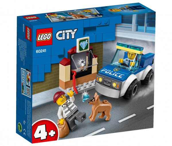 60241 LEGO® City Polizeihundestaffel