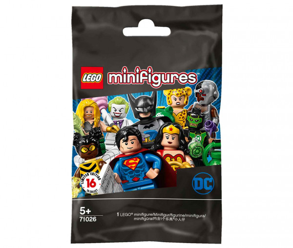 71026 LEGO® DC Super Heroes Series minifigures