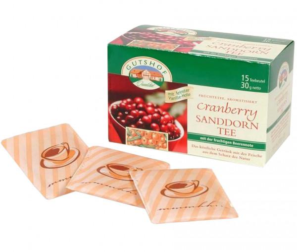 Avita Cranberry Sanddorn Tee (Aufgussbeutel)