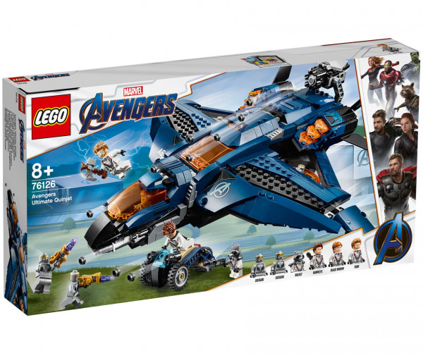76126 LEGO® Marvel Super Heroes Ultimativer Avengers-Quinjet