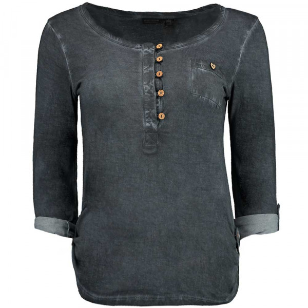 Eight2Nine Damen Langarm-Shirt