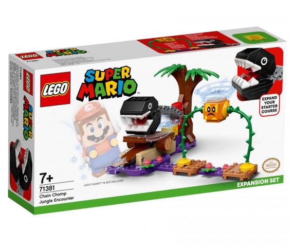 71381 LEGO® Super Mario™ Begegnung mit dem Kettenhund – Erweiterungsset