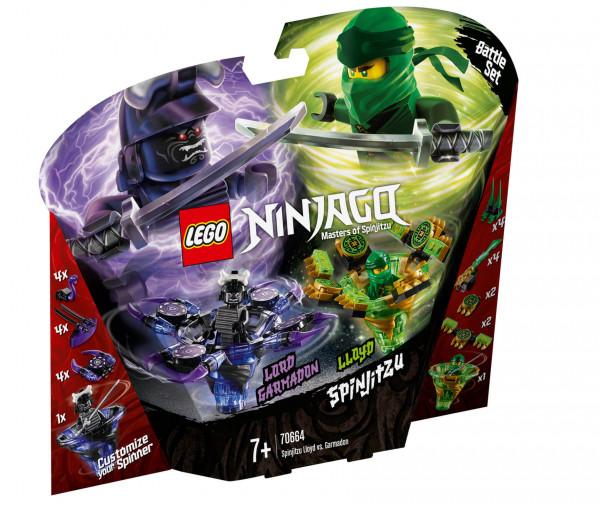 70664 LEGO® NINJAGO® Spinjitzu Lloyd vs. Garmadon