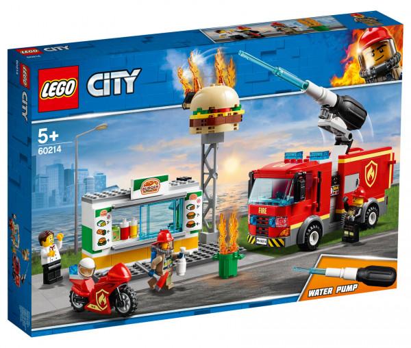 60214 LEGO® City Feuerwehreinsatz im Burger-Restaurant