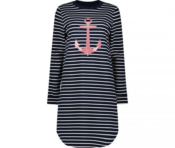 Marymaids Damen Kleid Melissa Streifen/Anker