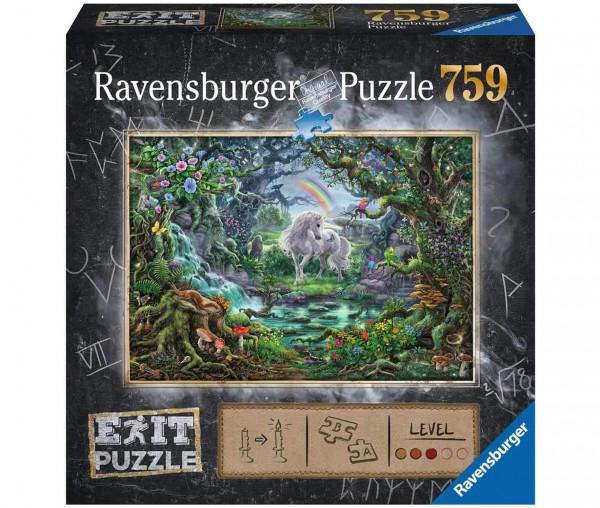 Ravensburger EXIT-Puzzle Einhorn