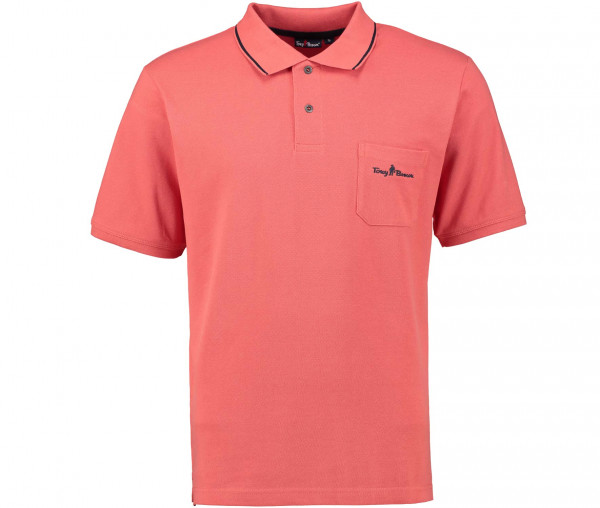 Tony Brown Herren Basic Poloshirt