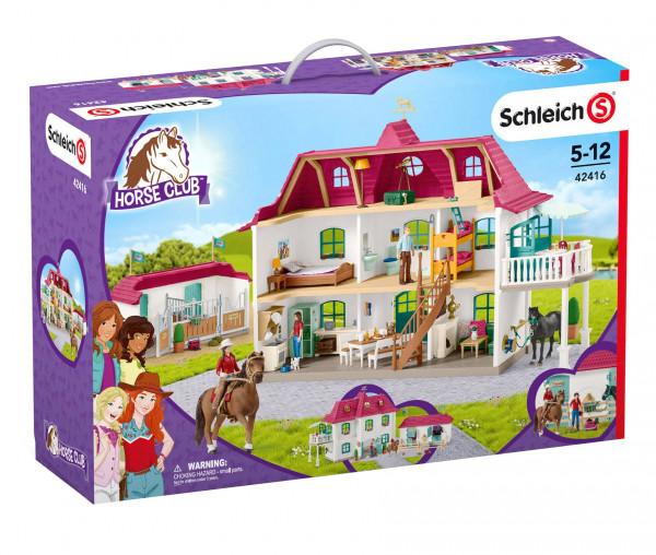 Schleich 42416 Farm World Großer Pferdehof mit Wohnhaus und Stall