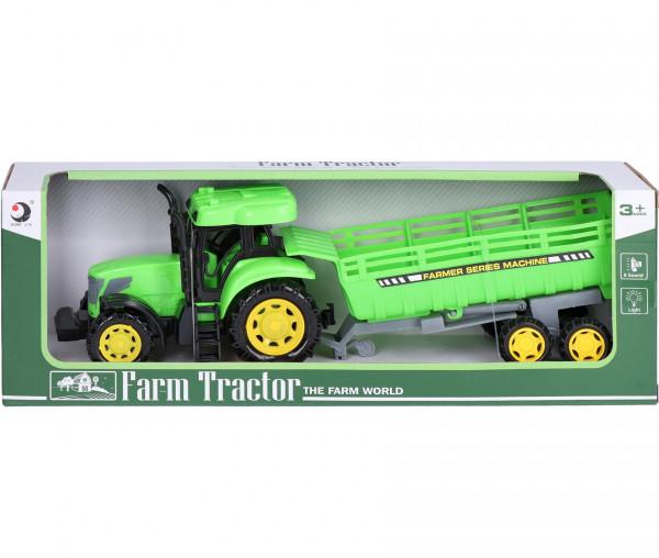 Farm Traktor mit Anhänger