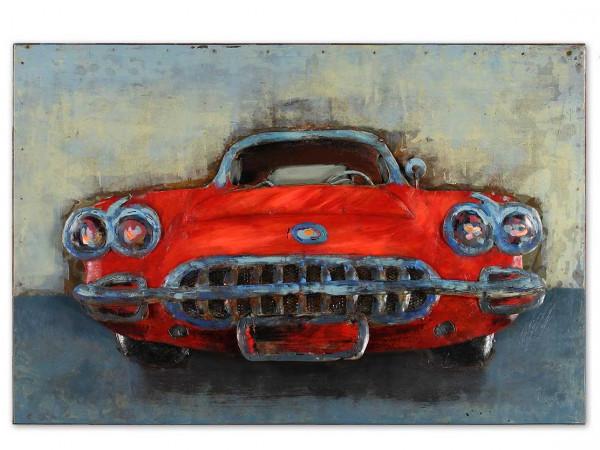 Metallbild im amerikanischen Style - Cadillac