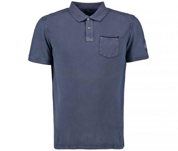 Tom Tailor Herren Poloshirt mit Brusttasche