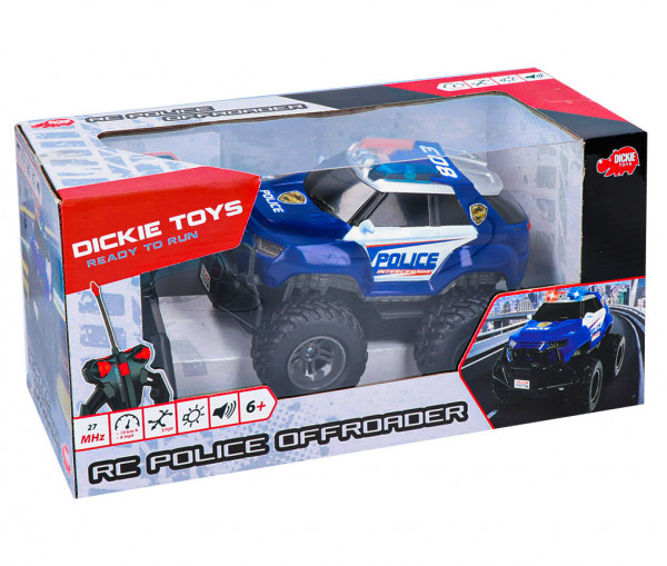 Dickie 201119056 - Rc Police Offroader