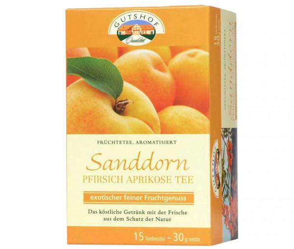 Avita Sanddorn Pfirsich-Aprikose Tee (Aufgussbeutel)