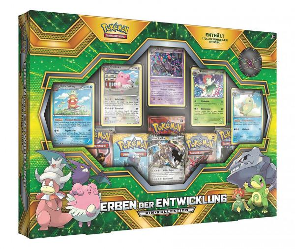 Pokémon Erben der Entwicklung Pin-Kollektion