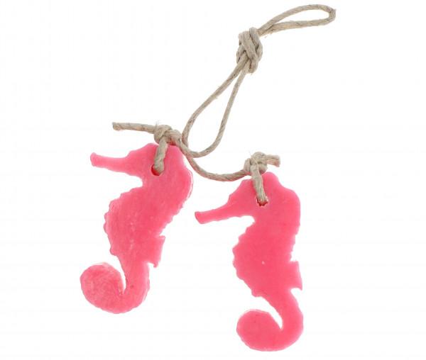 Soap & Gifts Seife 2er Set Seepferdchen am Seil